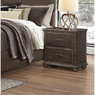 Bargain Karas 2 Drawer Nightstand by Darby Home Co