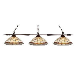 Fleur De Lis Living Beech Hill 3-Light Pool Table Light Pendant