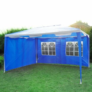 Trotter 4m X 3m Steel Party Tent By Sol 72 Outdoor