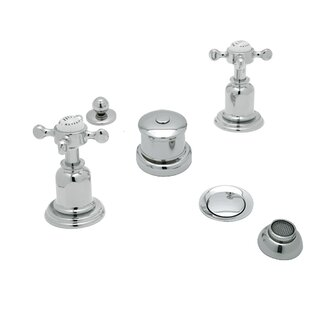 Rohl Perrin and Rowe Double Handle Vertical Spray Bidet Faucet