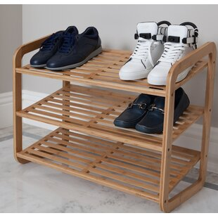 9 Pair Stackable Shoe Rack By BEST LIVING INC
