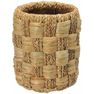 Kouboo Braided Sea Grass Waste Basket