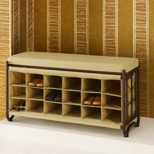 Durgin Upholstered Storage Bench by Rebrilliant