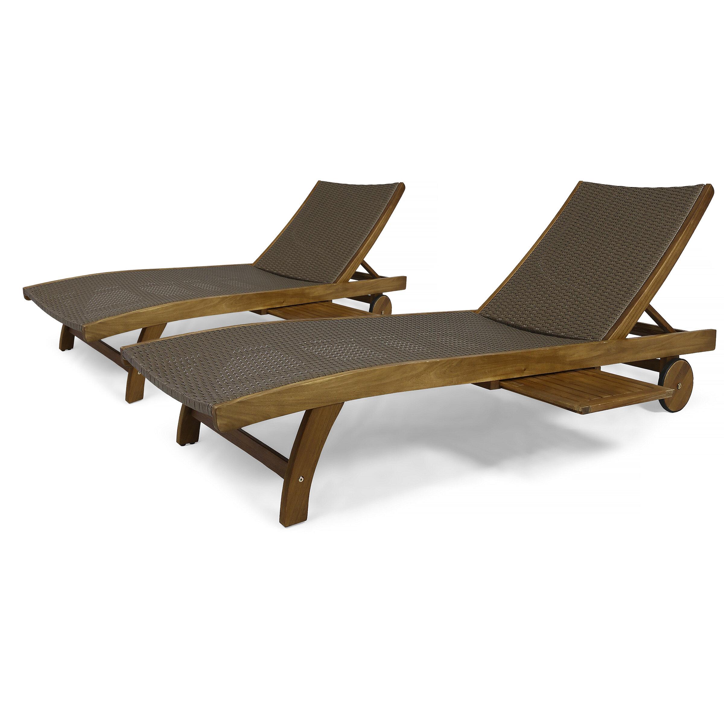 Cleghorn Reclining Chaise Lounge