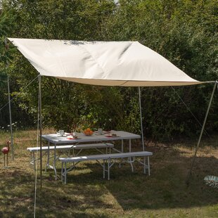 Hebron 3.9m X 2.9m Rectangular Shade Sail By Sol 72 Outdoor