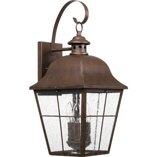 Darby Home Co Danielson 3-Light Outdoor Wall Lantern