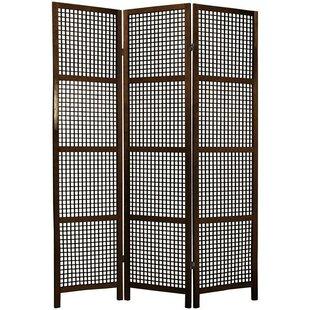 Stoehr Shoji 3 Panel Room Divider