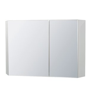 Brit 4134 W x 4134 H x 551 D Solid Wood Wall Mounted Bathroom Cabinet by Ronbow