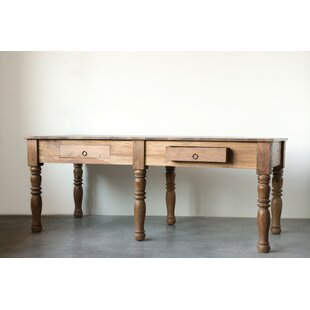 Bungalow Rose Ingraham Reclaimed Wood Con..