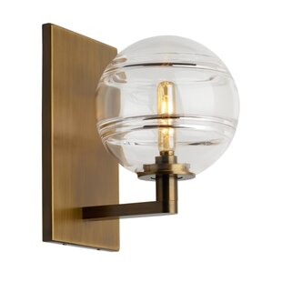 Demelza 1-Light Armed Sconce b..