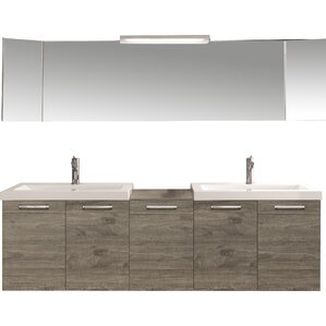 double bathroom vanity. 69  Double Modern Bathroom Vanity Set Vanities AllModern