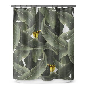 Tropical Dream Single Shower Curtain by KAVKA DESIGNS