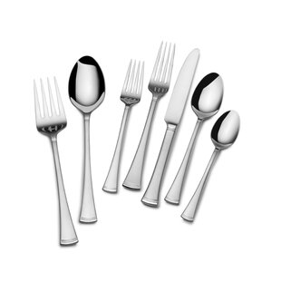 Rosalynn Frost 22 Piece 18/10 Stainless Steel Flatware Set, Service for 4
