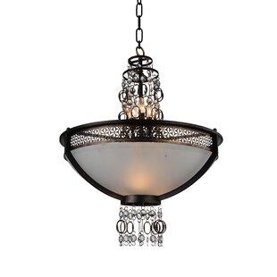 CWI Lighting Pollett 6-Light Bowl Pendant