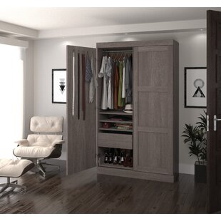 Grey Armoires & Wardrobes You\'ll Love | Wayfair