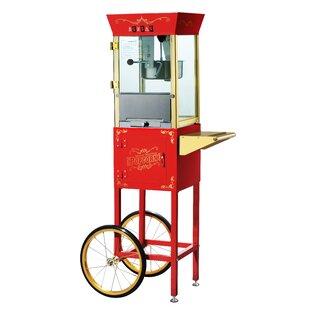 8 Oz. Matinee Antique Popcorn Machine & Cart