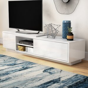 tv stand living room. Dedrick 71  TV Stand Modern Stands and Entertainment Centers AllModern
