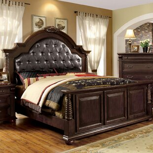 Wanda Upholstered Panel Bed by Astoria Grand