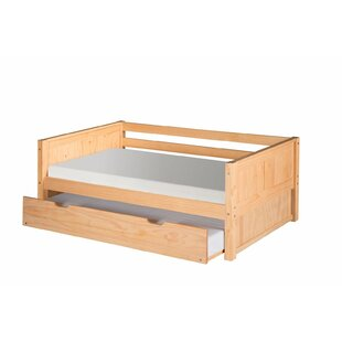 Oakwood Twin Panel Bed with Trundle