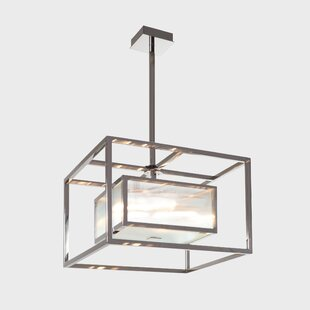Orren Ellis Desilets 4-Light Square/Rectangle Chandelier
