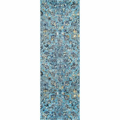 Blue Paisley Area Rugs You Ll Love In 2019 Wayfair