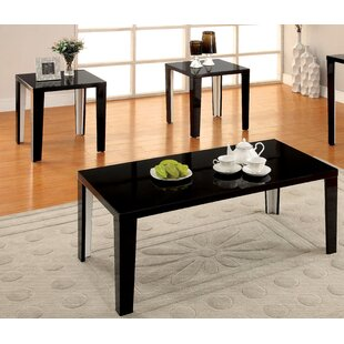 Hokku Designs Latanya 3 Piece Coffee Table Set