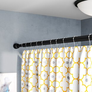 Larosa 87 Adjustable Straight Tension Shower Curtain Rod By Symple Stuff