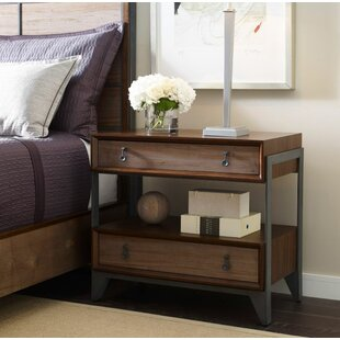 Foundry Select Catalina 2 Drawer Nightstand