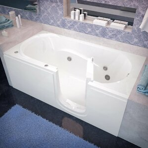 whirlpool bathtub. Stream 60  x 30 Whirlpool Jetted Bathtub Tubs You ll Love Wayfair