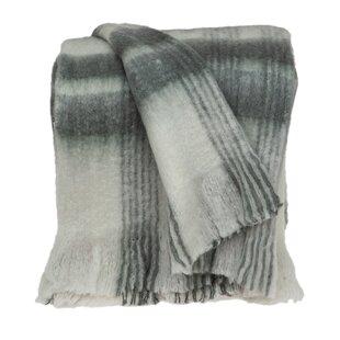 SINGLE DOUBLE QUEEN KING 400gsm Herringbone Wool Blanket by Accessorize