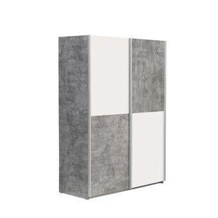 Rona 2 Door Sliding Wardrobe By Ebern Designs