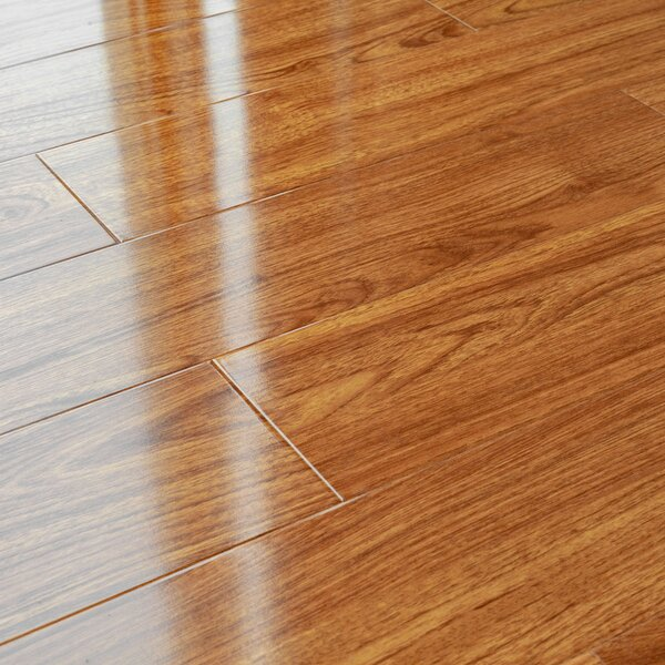 Kronoswiss 5 X 48 X 12mm Pine Laminate Flooring In Rosewood Cherry