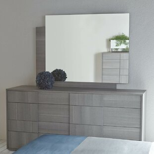 Salerno 8 Drawer Dresser with Mirror By Brayden Studio