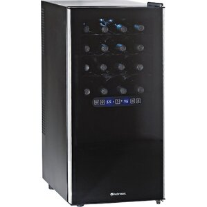 32 Bottle Silent Dual Zone Freestanding Wine Cooler by Wine Enthusiast