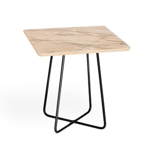 Iveta Abolina Alaskan Gelato End Table by East Urban Home