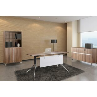 Bergerson 3 Piece Desk Office Suite by Comm Office Read Reviews