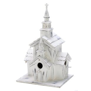 Zingz & Thingz Country Steeple 12.75 in x 6.5 in x 7 in Birdhouse