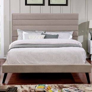 Parksley Upholstered Panel Bed by Ivy Bronx