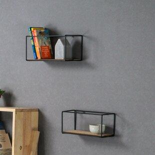 2 Piece Wall Shelf Set (Set Of 2) By Grattify