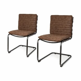 Finnley Upholstered Dining Chair (Set of 2) 17 Stories