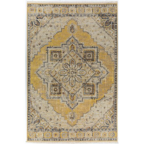 World Menagerie Prima Power Loom Gray Rug Reviews Wayfair