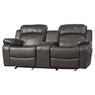 Where buy  Hall Glider Reclining Loveseat by Darby Home Co Reviews (2019) & Buyer's Guide