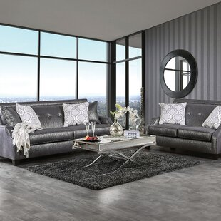 Rosdorf Park Licon 2 Piece Living Room Set