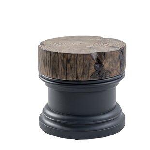 Union Rustic Jarrell Stone/Concrete Coffee Table