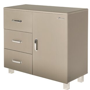 Miami 1 Door and 3 Drawer Accent Cabinet