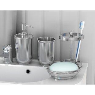 Online Reviews Flatbush 4 Piece Bathroom Accessory Set ByRosdorf Park