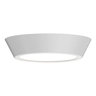 Orren Ellis Dougherty 1-Light LED Flush Mount