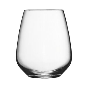 Crescendo 25 oz. Stemless Wine Glass (Set of 4)