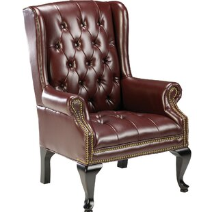 Queen Anne Wing Back Guest Chair