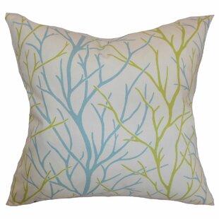 Fderik Trees Cotton Throw Pillow